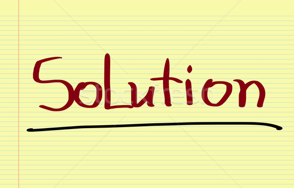 Solution Concept Stock photo © KrasimiraNevenova