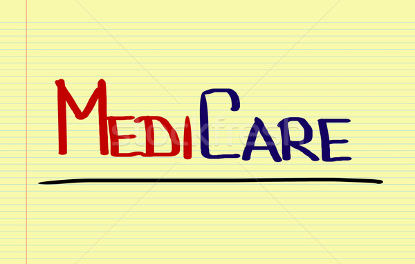 Medicate egészség biztonság szolgáltatás vásárló törődés Stock fotó © KrasimiraNevenova