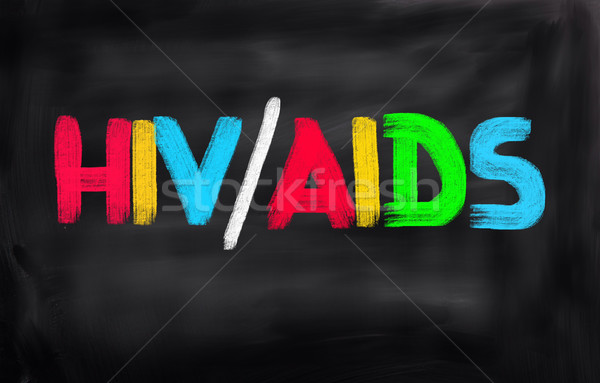 HIV/AIDS Concept Stock photo © KrasimiraNevenova