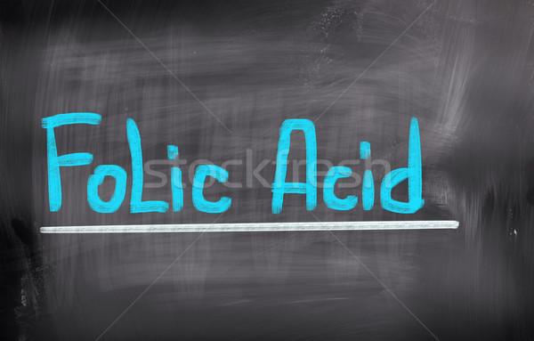 ácido educación signo medicina Screen químicos Foto stock © KrasimiraNevenova