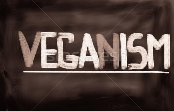 Veganism Concept Stock photo © KrasimiraNevenova