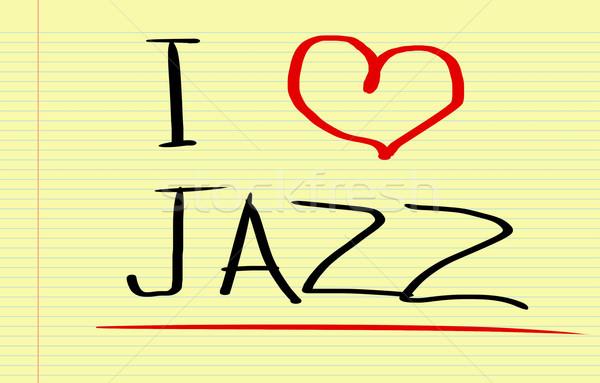 Szeretet dzsessz buli háttér diszkó kő Stock fotó © KrasimiraNevenova