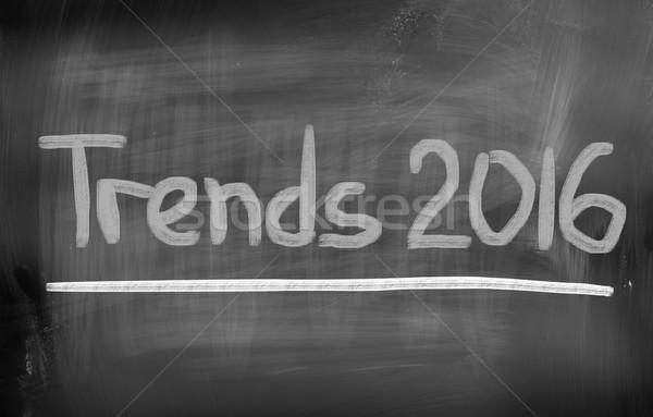 Тенденции 2016 бизнеса интернет технологий корпоративного Сток-фото © KrasimiraNevenova