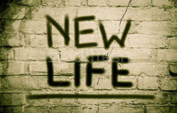 Yeni hayat yaşam tarzı yeni yol başlatmak planlama Stok fotoğraf © KrasimiraNevenova