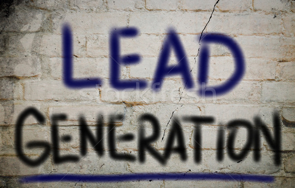 Lead Generation Concept Stock photo © KrasimiraNevenova