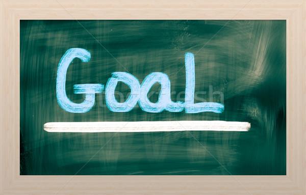 Goal Concept Stock photo © KrasimiraNevenova