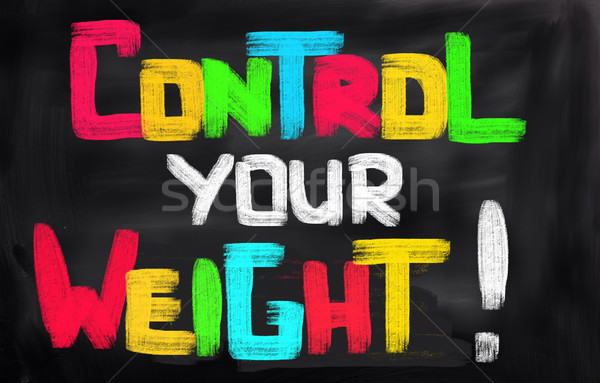 Control Your Weight Concept Stock photo © KrasimiraNevenova