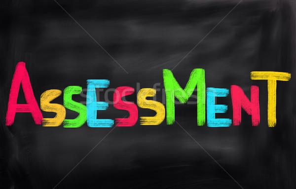 évaluation affaires éducation gestion recherche examen Photo stock © KrasimiraNevenova
