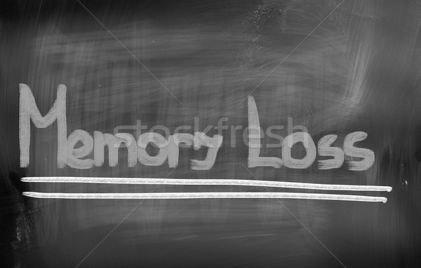 記憶喪失 医療 高齢者 ケア コンセプト 医療 ストックフォト © KrasimiraNevenova