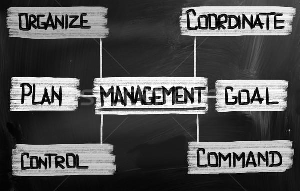 Management Concept Stock photo © KrasimiraNevenova
