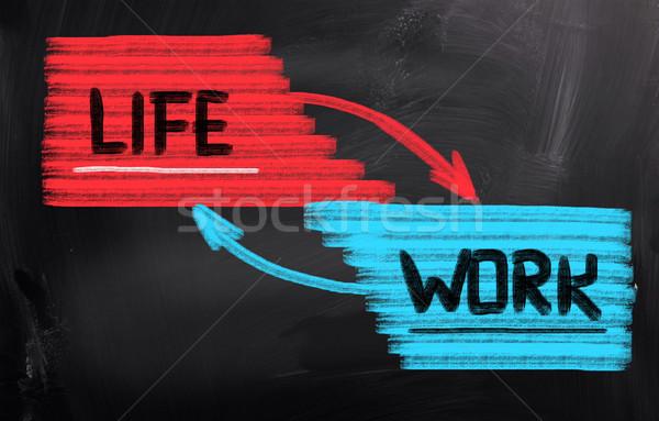 Work Life Concept Stock photo © KrasimiraNevenova