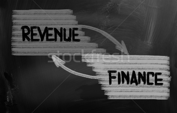 Revenue Concept Stock photo © KrasimiraNevenova
