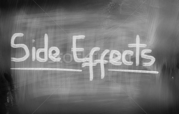 Side Effects Concept Stock photo © KrasimiraNevenova