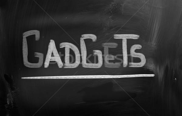 Gadgets Concept Stock photo © KrasimiraNevenova