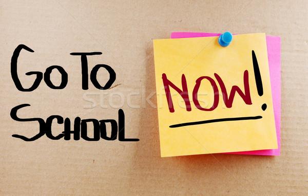 Education Concept Stock photo © KrasimiraNevenova
