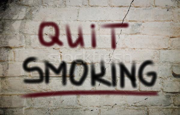 Quit Smoking Concept Stock photo © KrasimiraNevenova