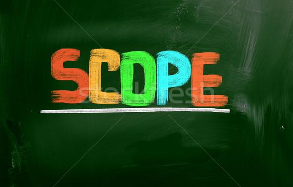 Scope Concept Stock photo © KrasimiraNevenova
