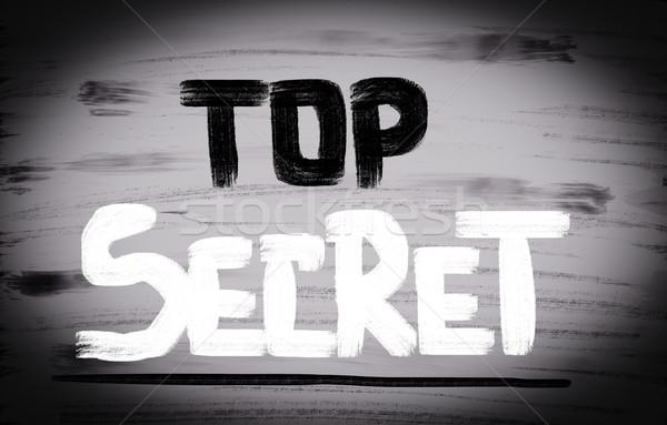 Top Secret Concept Stock photo © KrasimiraNevenova