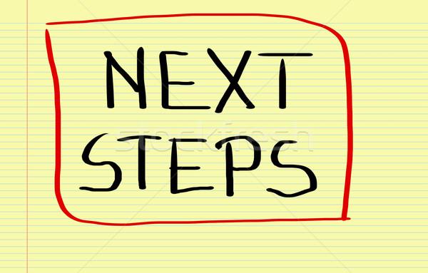 Next Steps Concept Stock photo © KrasimiraNevenova
