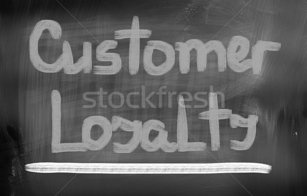 Cliente lealtad fondo mercado poder empresa Foto stock © KrasimiraNevenova