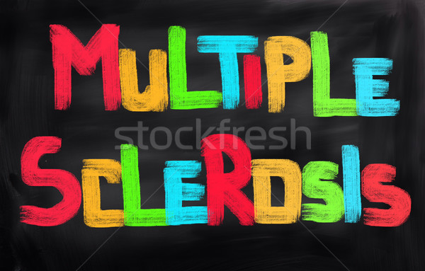 Multiple Sclerosis Concept Stock photo © KrasimiraNevenova