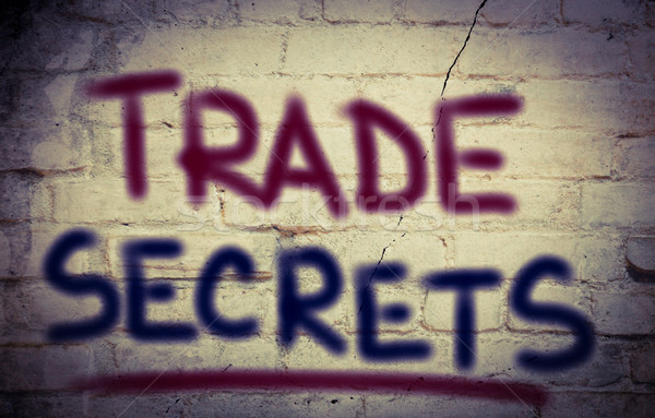 Trade Secrets Concept Stock photo © KrasimiraNevenova