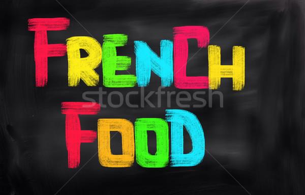French Food Concept Stock photo © KrasimiraNevenova
