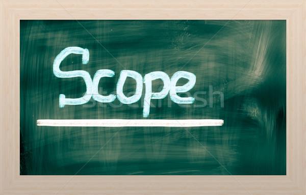 Vállalati vezetőség terv tanul konceptuális szó Stock fotó © KrasimiraNevenova