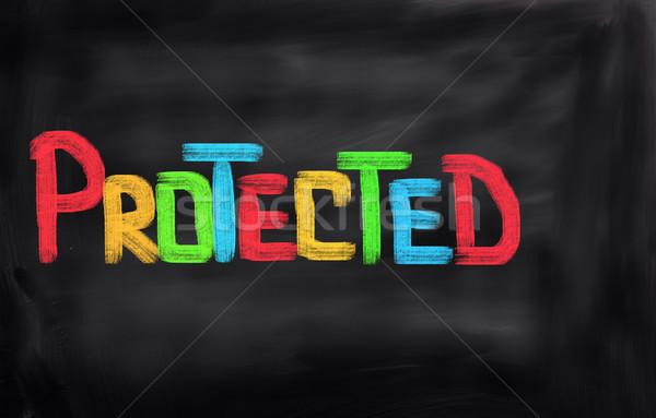 Protégé ordinateur web communication site code Photo stock © KrasimiraNevenova