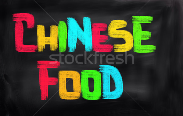Chinese Food Concept Stock photo © KrasimiraNevenova