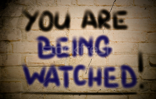 You Are Being Watched Concept Stock photo © KrasimiraNevenova