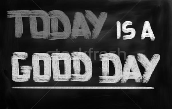Ma jó nap üzlet naptár siker Stock fotó © KrasimiraNevenova