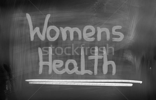 Womens Health Concept Stock photo © KrasimiraNevenova