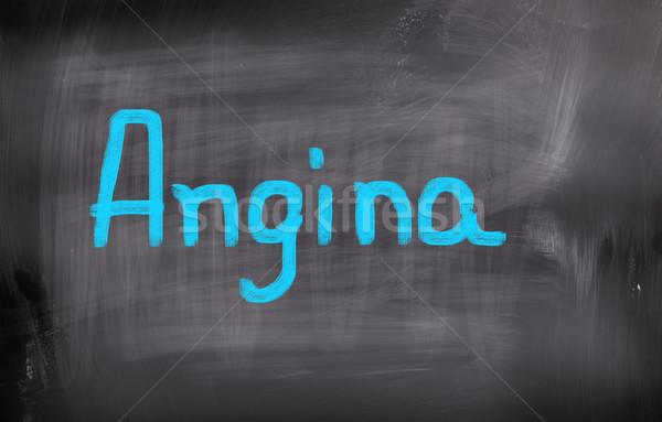 Angina Concept Stock photo © KrasimiraNevenova