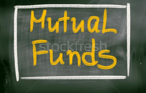 Mútuo fundos segurança mercado futuro companhia Foto stock © KrasimiraNevenova