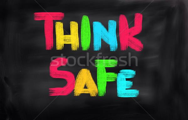 Сток-фото: безопасности · первый · работу · домой · безопасности · колледжей