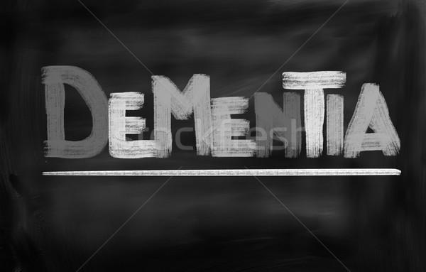 Memóriazavar orvosi idős törődés ötlet egészségügy Stock fotó © KrasimiraNevenova