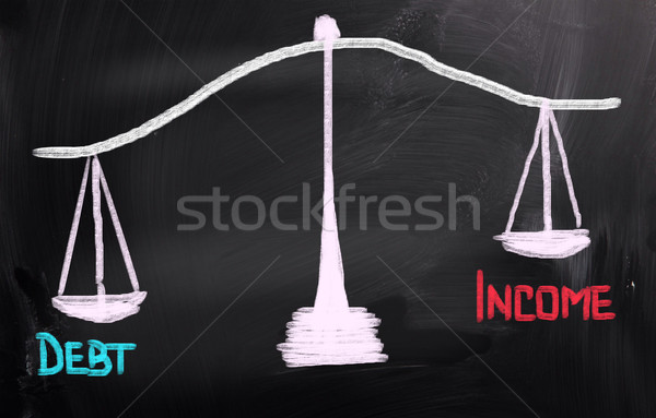 Stock photo: Debt Concept