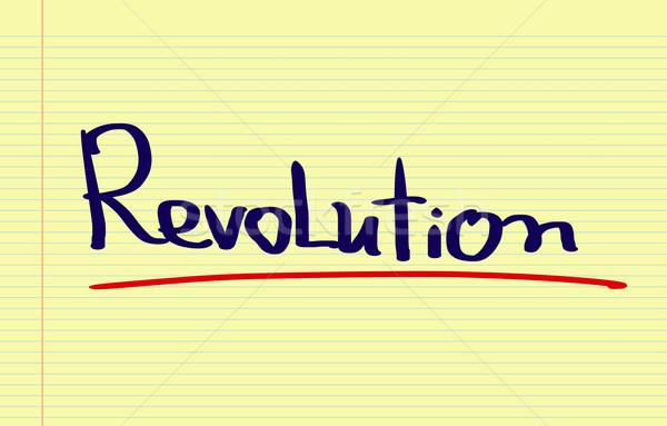 Stok fotoğraf: Devrim · yazı · öfkeli · insan · yumruk · protesto