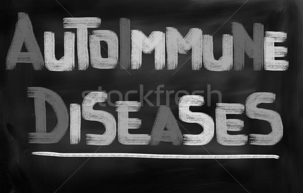 болезнь аннотация медицинской медицина концепция здорового Сток-фото © KrasimiraNevenova