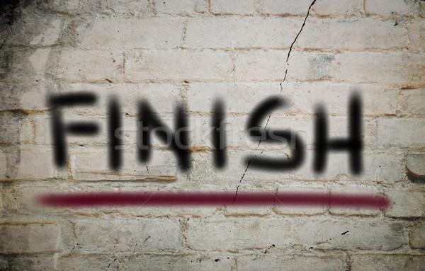 закончить счастливым скорости запустить успех гонка Сток-фото © KrasimiraNevenova