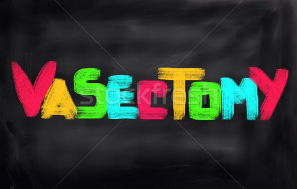 Vasectomy Concept Stock photo © KrasimiraNevenova