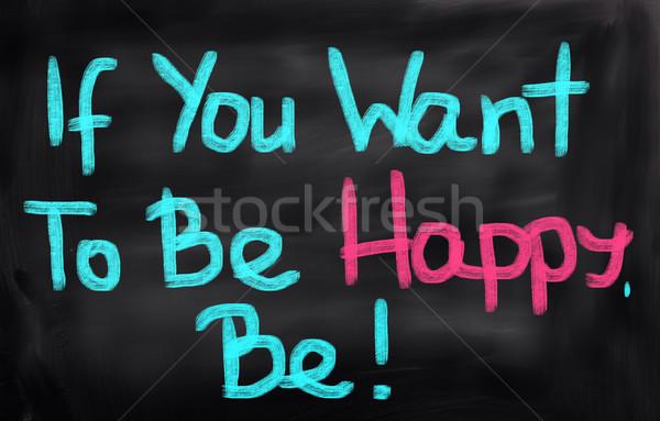 幸せ 目標 幸福 希望 コンセプト 感情 ストックフォト © KrasimiraNevenova