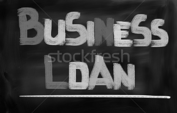 üzlet kölcsön pénzügy bolt siker pénz Stock fotó © KrasimiraNevenova