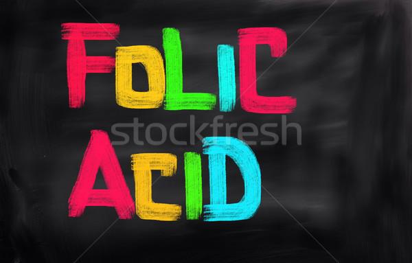 ácido tecnología educación medicina Screen escribir Foto stock © KrasimiraNevenova