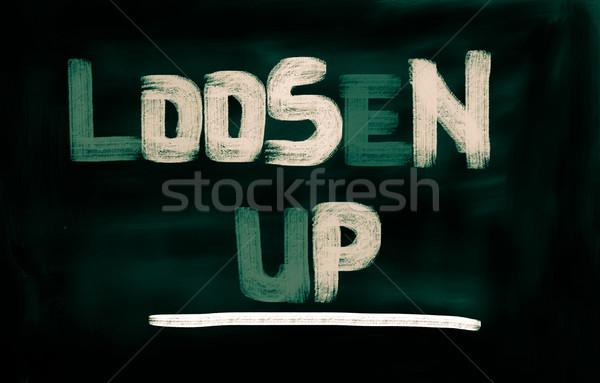 Loosen Up Concept Stock photo © KrasimiraNevenova