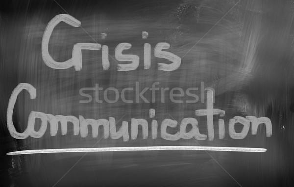Crisis Communication Concept Stock photo © KrasimiraNevenova