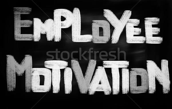 Employee Motivation Concept Stock photo © KrasimiraNevenova