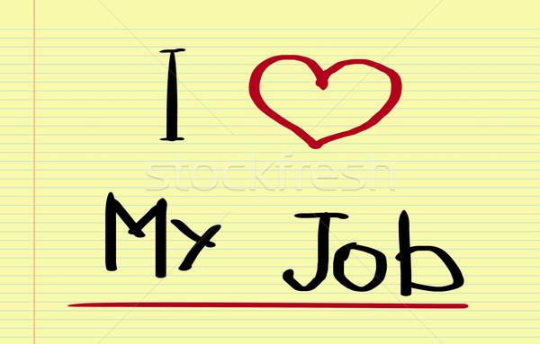 ストックフォト: 愛 · 仕事 · 作業 · 企業 · 成功