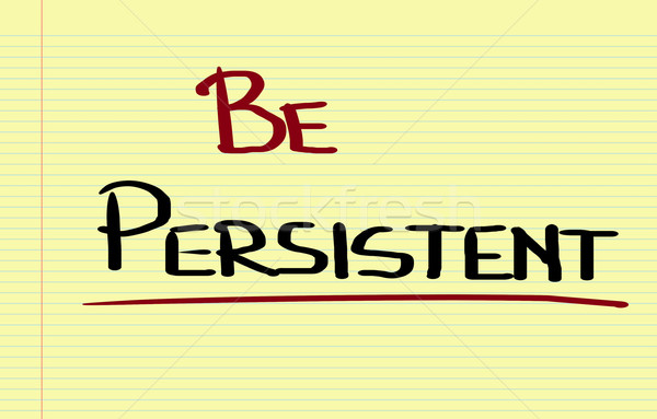 Persistente fundo sucesso pensar pare mudar Foto stock © KrasimiraNevenova